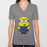 MINION (COLORS) Unisex V-Neck
