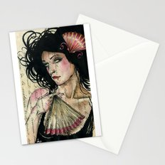 The French Fan Stationery Cards