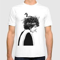 Dylan Mens Fitted Tee White SMALL