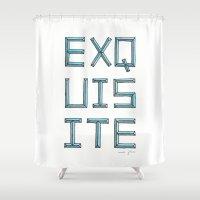 EXQUISITE Shower Curtain