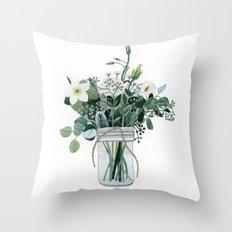 Forest Bouquet Throw Pillow