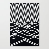 defragmentation Canvas Print