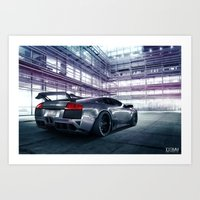 Liberty Walk LB Performance Lamborghini Murcielago Art Print