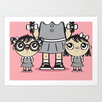 Some Girls Are Bigger Th… Art Print