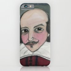 Much Ado About Shakespeare, Illustrated Writers Portrait Slim Case iPhone 6s