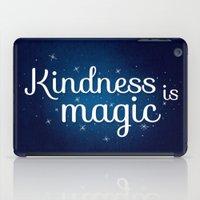 kindness is magic iPad Case