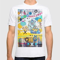 Buddha Mens Fitted Tee Ash Grey SMALL