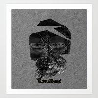 Tornface Art Print
