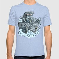 Yeti Mens Fitted Tee Tri-Blue SMALL