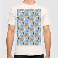 Oh Crab! Mens Fitted Tee Natural SMALL