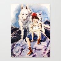 Princess Mononoke Canvas Print