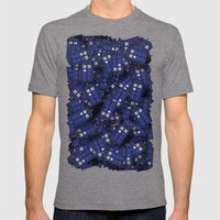 Tardis Mens Fitted Tee Tri-Grey SMALL