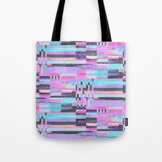 Pink lines of chalk Tote Bag