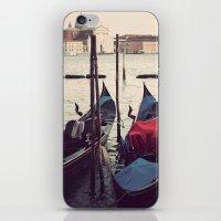 Italian Boat Dock iPhone & iPod Skin