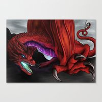 Red Wryven Canvas Print