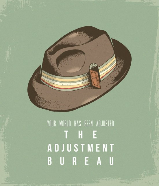 The Adjustment Bureau - Movie Poster Art Print