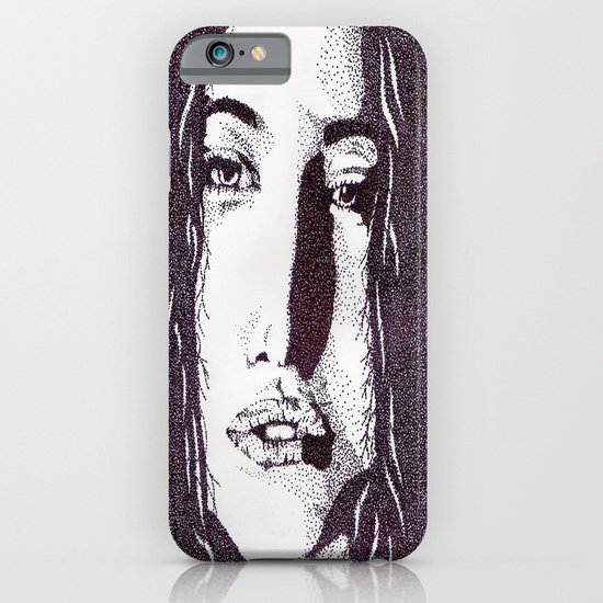 ??? Girl iPhone & iPod Case