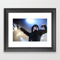 Gerard Way Framed Art Print