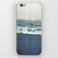 retro ocean iPhone & iPod Skin