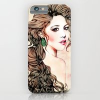 Woman With Long Hair  iPhone 6 Slim Case