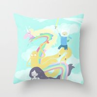 Time for an Adventure Throw Pillow
