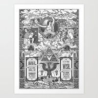 Legend Of Zelda - The Th… Art Print