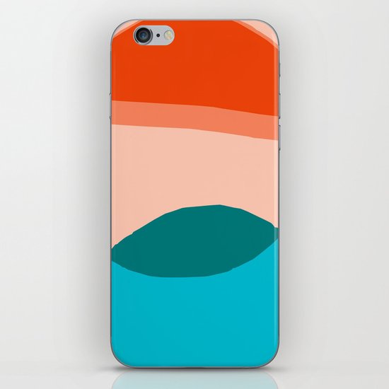 Overlapping Circles iPhone & iPod Skin