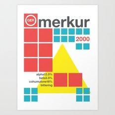 merkur single hop Art Print
