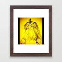 Yellow Bat Framed Art Print
