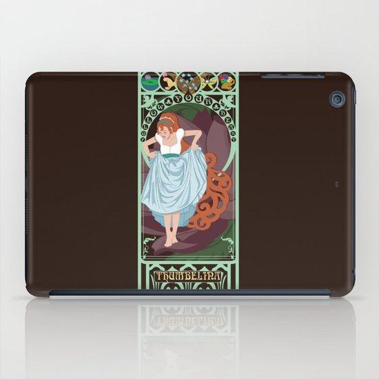 Thumbelina Nouveau - Thumbelina iPad Case