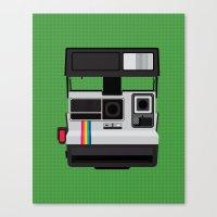 Polaroid Supercolor 635CL Canvas Print