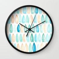 #91. DENNIS (Surfboards) Wall Clock