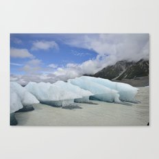 Mt Cook Glacier Canvas Print