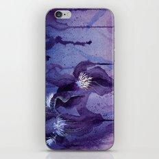 Iris, Blue and Purple iPhone & iPod Skin
