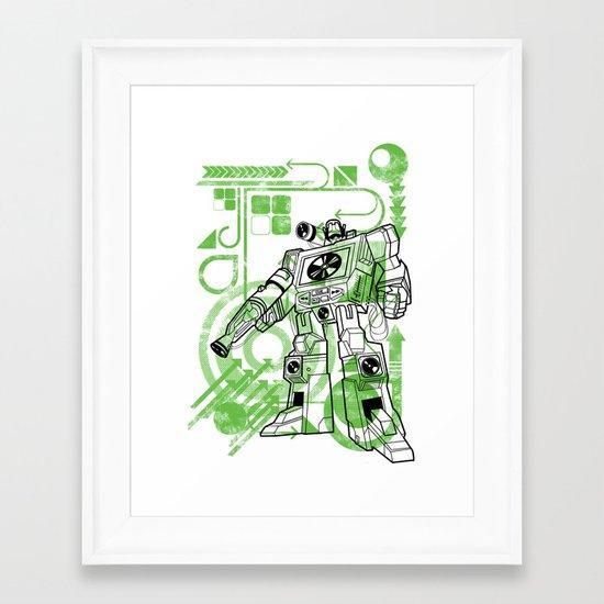 Autobot DJ Framed Art Print