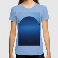 Ocean Womens Fitted Tee Athletic Blue SMALL