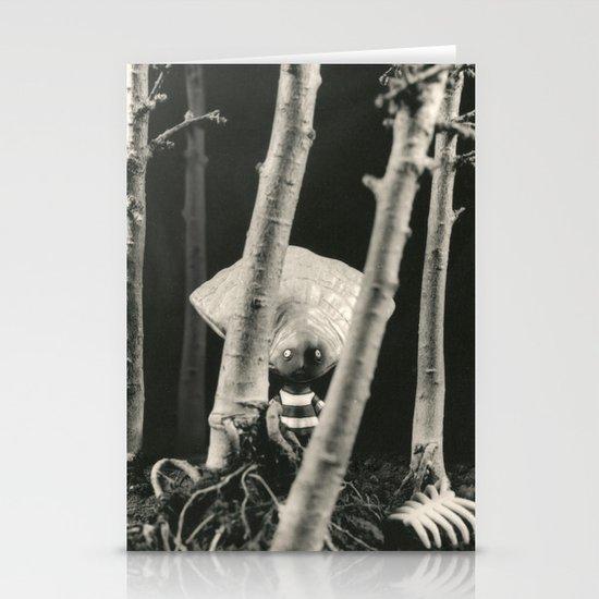 Oyster Boy - tim burton Stationery Card