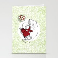 Bad wolves don't exist. Stationery Cards