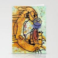 CatDog Stationery Cards