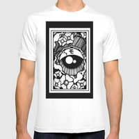 Ojo Japones Mens Fitted Tee White SMALL