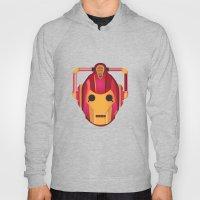 cyber iron man Hoody