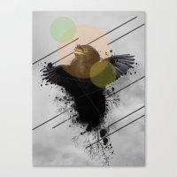 Midnight 20 Canvas Print
