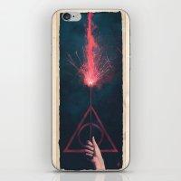 Expelliarmus iPhone & iPod Skin