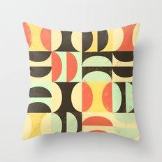 Half and Half Throw Pillow