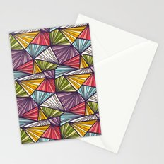 Geometric doodles Stationery Cards