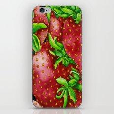 Fresh Strawberries iPhone & iPod Skin
