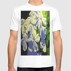 Bursting Bloom Mens Fitted Tee SMALL White