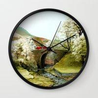 English Countryside Wall Clock