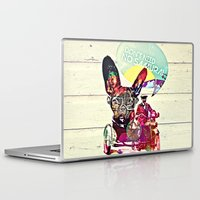 french Laptop & iPad Skins featuring FRENCH by DON'T NEED NO SAMURAI