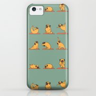 Pug Yoga iPhone 5c Slim Case